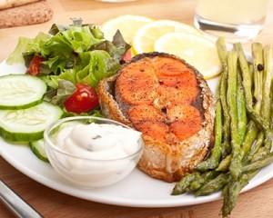 maaltijd zonder koolhydraten